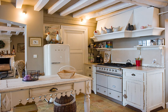 Arte interiors cuisines - Decoration maison campagne chic ...